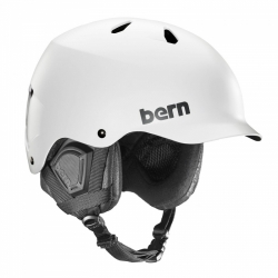 Snowboardová helma Bern Watts Satin white