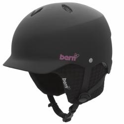 Dámská helma Bern Lenox AUDIO matte black