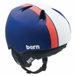 Dětská helma Bern Nino matte blue bomb