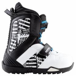Dětské boty Nitro Barrage QLS youth black-clash b w
