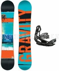 Snowboard set Gravity Contra