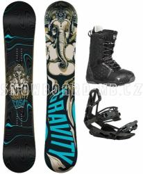 Snowboard komplet Gravity Cosa black