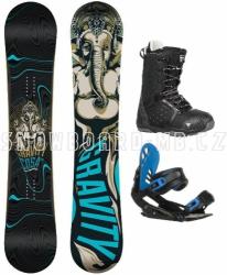 Snowboard komplet Gravity Cosa black/blue