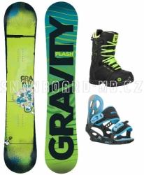 Dětský komplet Gravity Flash blue/green