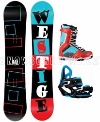 Snowboard komplet Westige Square blue/red