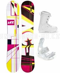Dámský snowboard komplet Ace Oddity S3 white