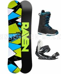 Pánský snowboard komplet Raven Shape black 2017