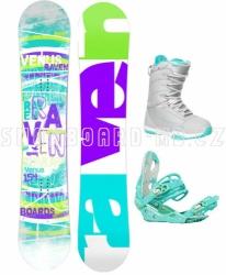 Dámský snowboardový komplet Raven Venus 2017