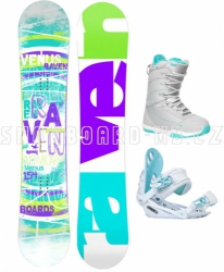 Dámský snowboard komplet Raven Venus 2017