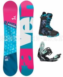Dámský snowboard komplet Raven Style 2017