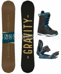 Pánský snowboard komplet Gravity Symbol 17/18