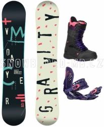 Dámský snowboard komplet Gravity Voayer 17/18