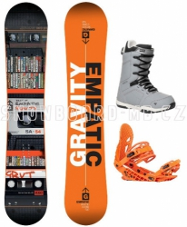 Snowboard komplet Gravity Empatic 17/18