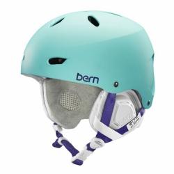Dámská helma Bern Brighton satin seafoam