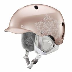 Dámská helma Bern Lenox satin rose gold