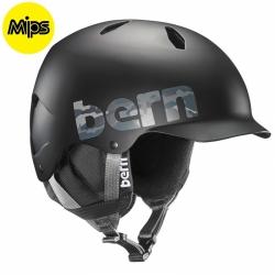 Dětská helma Bern Bandito Jr MIPS matte black camo logo