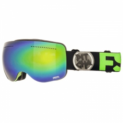 Brýle Pitcha FSP Black fluo/green mirrored