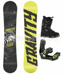 Snowboard komplet Gravity Flash (boty 39, 40, 41)