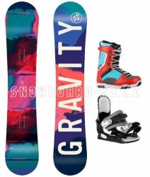 Dívčí a dámský komplet Gravity Fairy blue/red