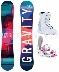 Dívčí komplet Gravity Fairy white/pink