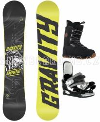 Snowboard komplet Gravity Empatic s botami Westige
