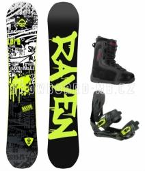 Snowboard komplet Raven Core (boty 41-44)