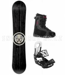 Snowboard komplet Westige Apache black