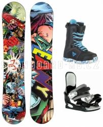Dětský snowboard komplet Beany Heropunch