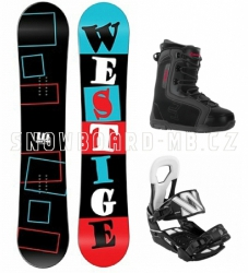 Snowboard komplet Westige Square a boty Beany