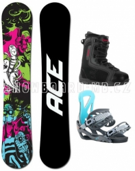 Snowboard komplet Ace Monster a boty Beany