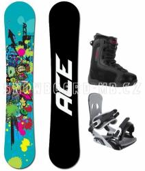 Snowboard komplet Ace Venom blue/black