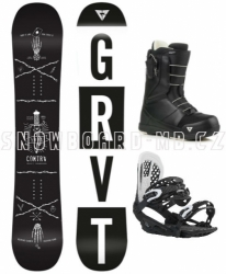 Snowboard komplet Gravity Contra 2018