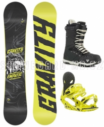 Snowboard komplet Gravity Empatic 2018