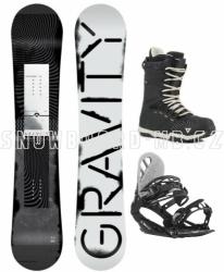 Snowboard komplet Gravity Madball black