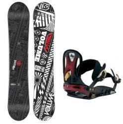 Pánský snowboardový set NITRO, snowboard a kovové vázání