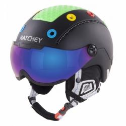 Dětská helma Hatchey Rival Visor black