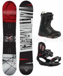 Snowboard komplet Gravity Bandit (boty s kolečkem)