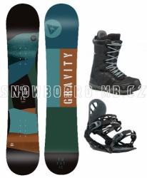 Snowboard komplet Gravity Empatic 2021/22