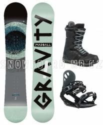 Snowboard komplet Gravity Madball 2019/20