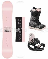 Dámský komplet Gravity Mist black/pink 2019/20