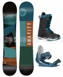 Snowboardový komplet Gravity Empatic s botami Recon