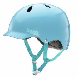 Dívčí helma Bern Bandita satin light blue