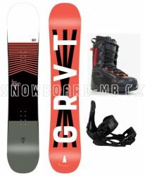 Komplet snowboard Gravity Madball 2020/21