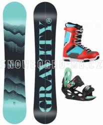 Dámský snowboard komplet Gravity Sirene Max
