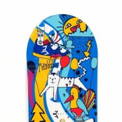 Dětský snowboard Beany Bark