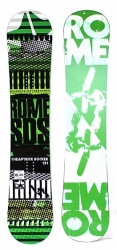 Snowboard Rome Cheaptrick Rocker SDS green