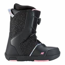 Dívčí boty K2 Kat black