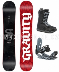Snowboard komplet Gravity Silent 2020/21