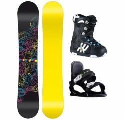 Dětský snowboard komplet pro nejmenší děti, snb set