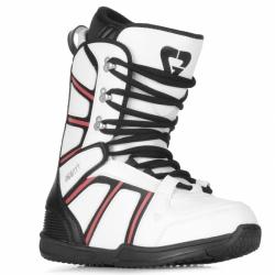 Dámské boty na snowboard Gravity Rosa white/red